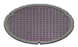 スリップ防止ふたの表面模様のイメージ